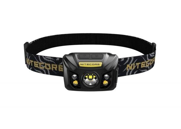 Nitecore NU32 LED Kopflampe CREE XP-G2 S3 LED 550 Lumen und Rotlicht - schwarz