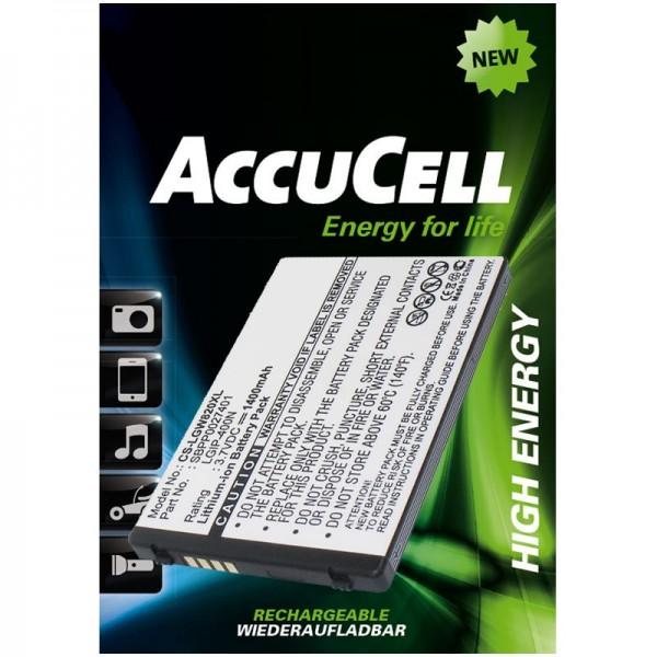 AccuCell Li-Ion Ersatz-Akku passend für LG Ally VS740, Etna, eXpo GW820