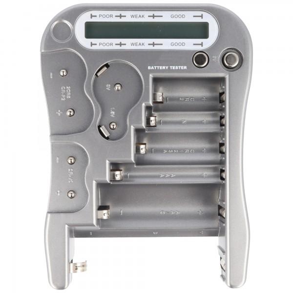 Universal Akku- und Batterie Tester mit LCD-Display