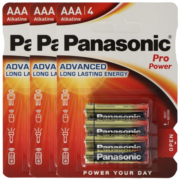 Panasonic Pro Power 12er Spar-Pack Micro/AAA/LR03