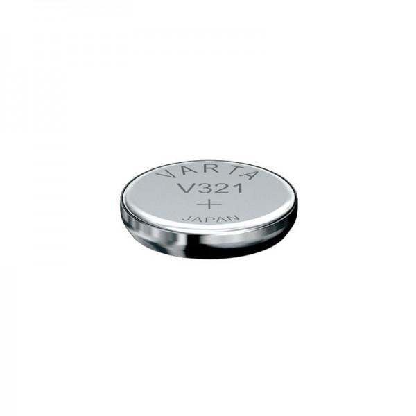 321, Varta V321, SR65, SR616SW Knopfzelle für Uhren etc.