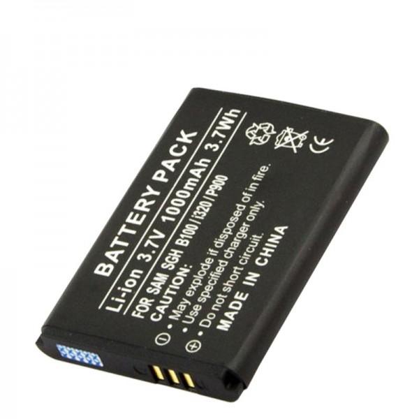Akku passend für Samsung SGH-i320, AB553446BECSTD, 1000mAh