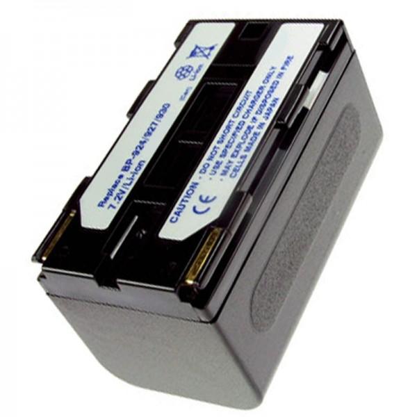 AccuCell Akku passend für Canon BP-924, BP-927, BP-930