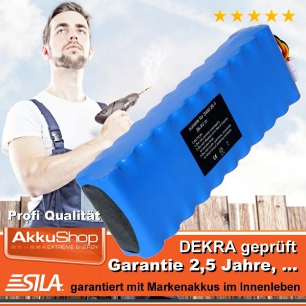 Akku für SAMSUNG NAVIBOT VC-RS60, VC-RS60H, VC-RS62, DJ96-0079A