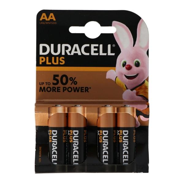 DURACELL Mignon AA LR6 4er Pack Alkaline Batterie