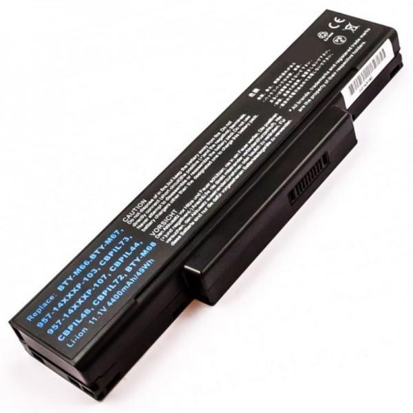 Akku passend für MSI CR400, CR400X, CR420, CR0X, CX410, CX420, EX400