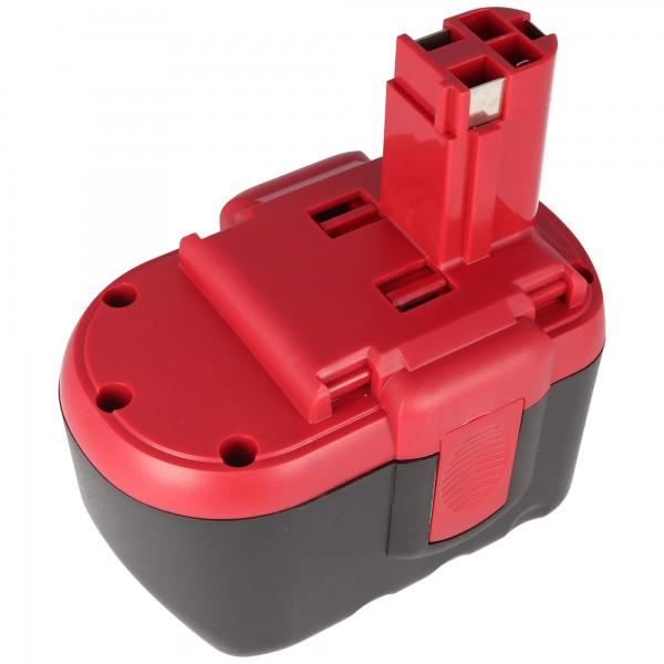 Akku passend für Bosch GSR 24VE-2, GBH 24V, 2607335268, 2,0Ah