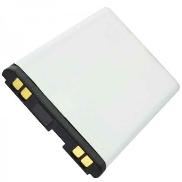 AccuCell Akku passend für LG B2100, LGTL-GBIP-830, 600mAh