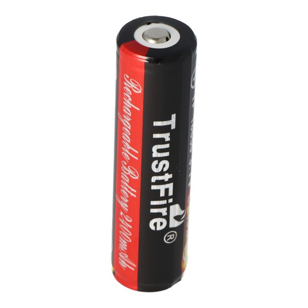 Trustfire 18650 2400mAh 3,7V geschützt, beachten Abmessungen 68,5x18,3mm