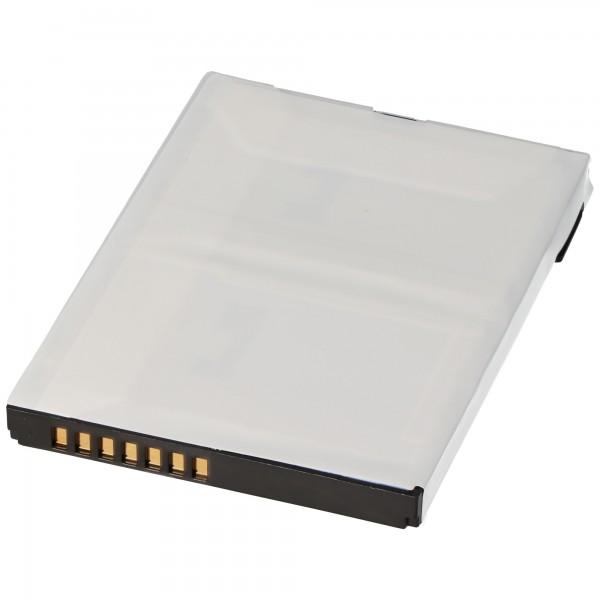 AccuCell Akku passend für HP iPAQ HX4000, HX4700 1800mAh 6,66Wh