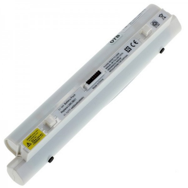 Akku passend für Lenovo IdeaPad S9 und IdeaPad S10 4400mAh weiß