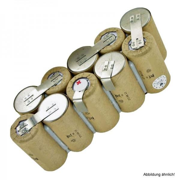 Akku passend für EURAS XXL 100 Handstaubsauger Typ 130.016