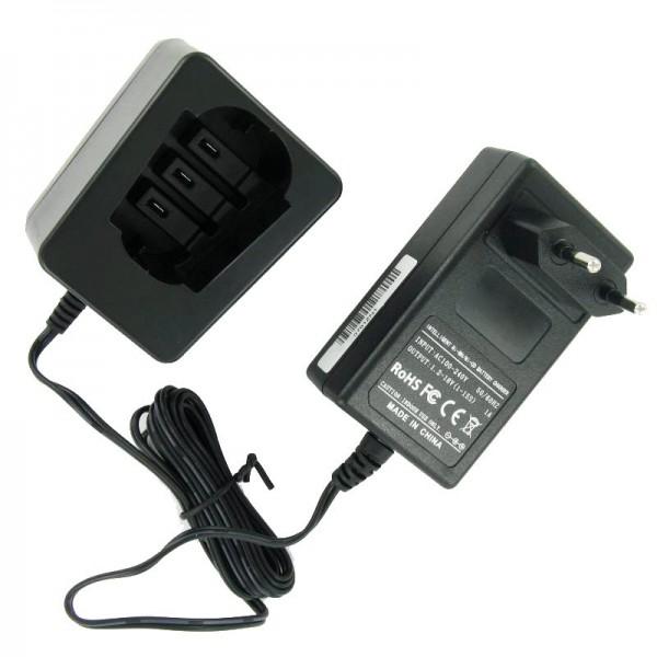 Ladegerät passend für Metabo Werkzeugakku 4,8 - 18 Volt NiCd/NiMH