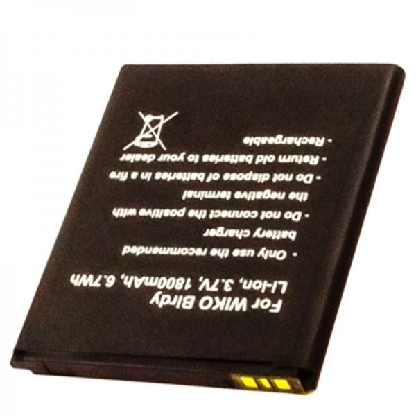 AccuCell Akku passend für den Handy Akku Wiko Birdy Akku S104-M25000-000