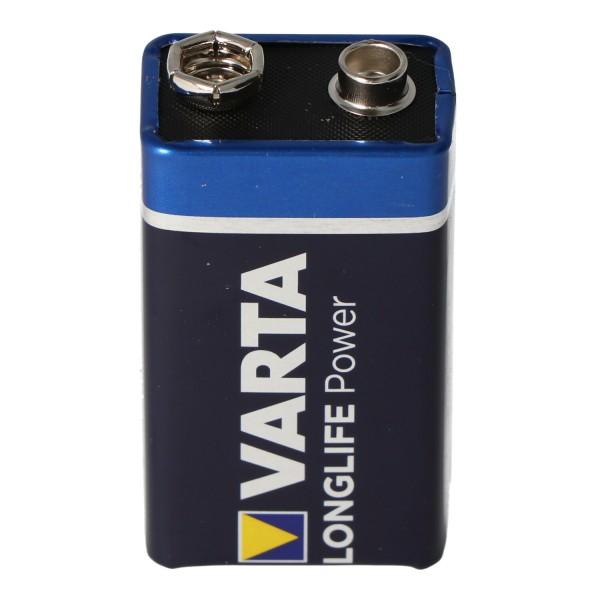 Varta Longlife Power (ehem. High Energy) 9-Volt Block Batterie 1 Stück lose Ware unverpackt