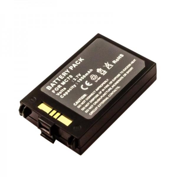 Akku passend für den Symbol MC70 Akku MC70H, 82-71363-03, 82-71365-01, BTRY-MC70EAB00