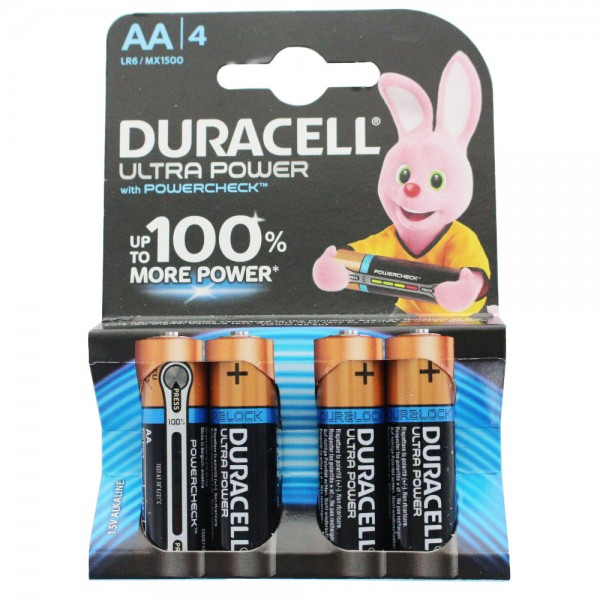 DURACELL ULTRA M3 Mignon/AA 4er Pack