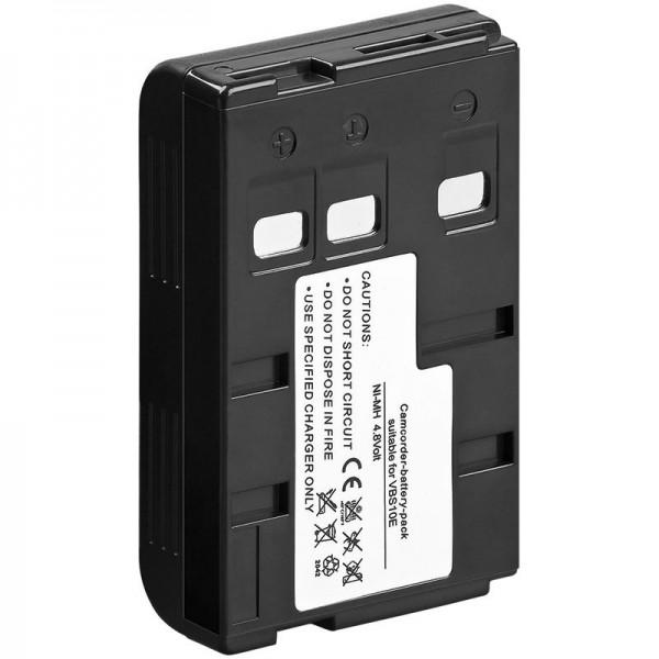 AccuCell Akku passend für Panasonic VW-VBS10E, HHR-V211, P-V211, P-V211T, HHR-V211T/1H, VSB0200