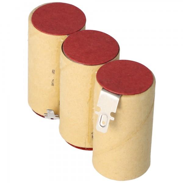 Akku passend für Gardena ACCU 60 mit Faston 2,8 und 4,8mm 2000mAh