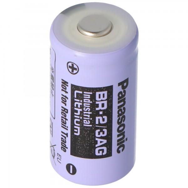 Panasonic Lithium 3V Batterie BR 2/3AGN 2/3 A Hochtemperaturzelle