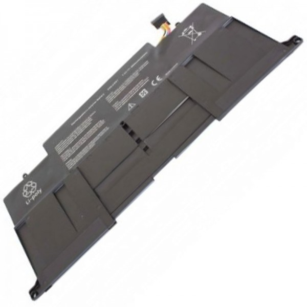 Akku für Asus UX31, UX31 Ultrabook, UX31A, UX31A-R4004H, UX31E Ultrabook, UX31E-DH72, UX31KI3517A, ZenBook UX31, Zenbook UX31A, ZenBook UX31, C22-UX31 7,4 Volt 6800mAh