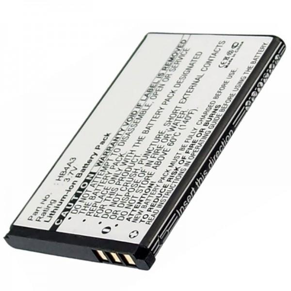 Huawei G6620, G7210, T1201, T1209 Akku als HB4A3 Nachbauakku von AccuCell