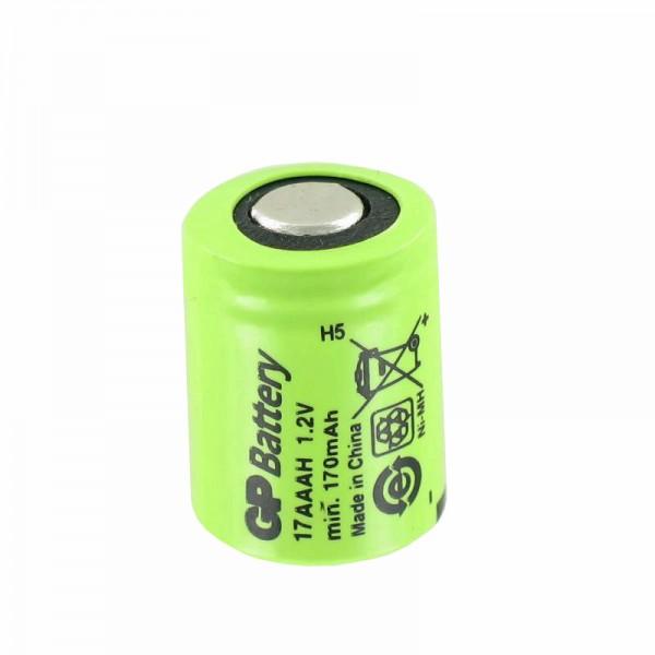 KAN 1/3AAA NiMH Industriezelle Akku Size 1/3 AAA Abmessungen 14,1 x 10,4mm, Nicht mehr lieferbar, wir liefern dafür eine bauähnliche GP Zelle