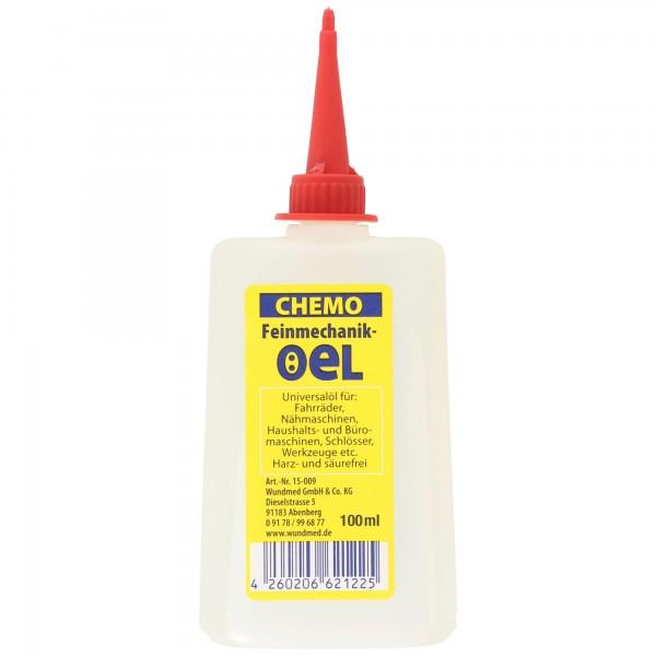 Feinmechanikeröl 100ml, Universalöl für Werkstatt, Haushalt, Schlösser, Werkzeug, Fahrräder etc., sorgt für reibungslose Funktionalität, harz- und säurefrei