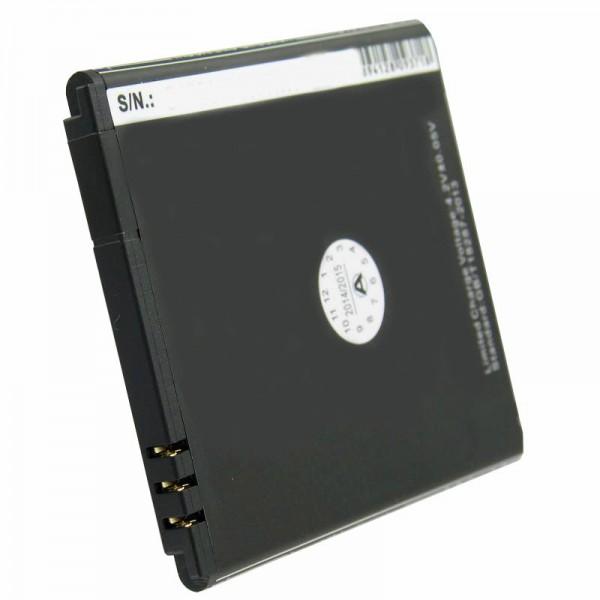 Akku passend für Simvalley SP-140, Ersatz-Akku PX-35234, PX-3524-675