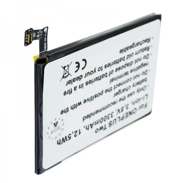 Akku passend für den ONEPLUS 2, A2001, A2003, A2005, Two Akku BLP597