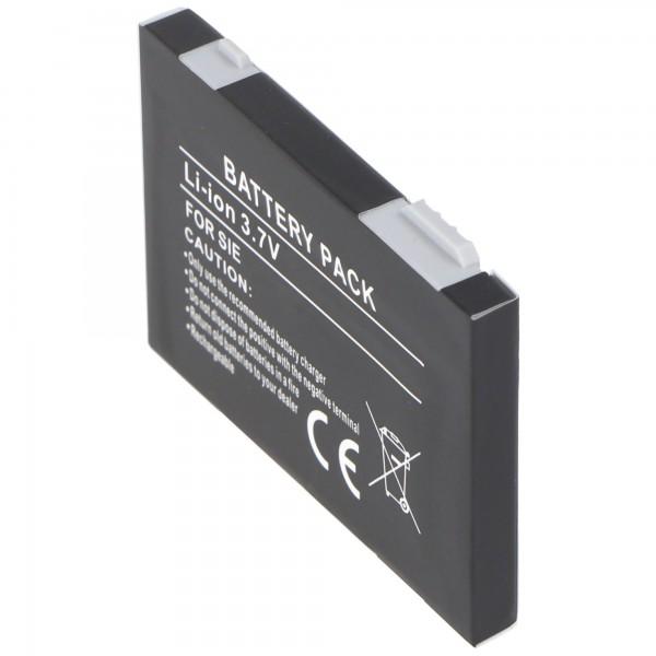 AccuCell Akku passend für Siemens S75, Siemens SXG 75, EBA-750