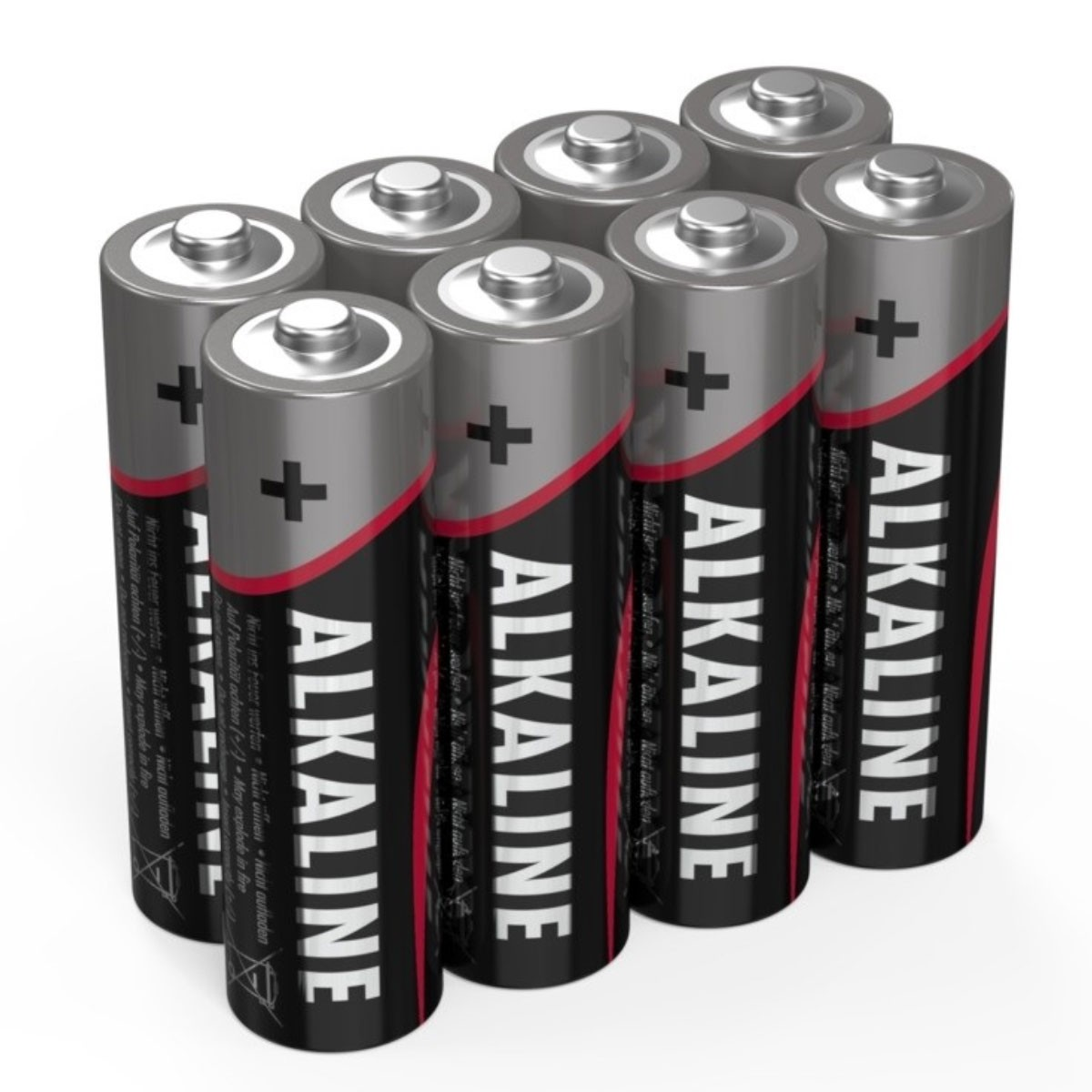 5015280 AA Mignon Batterie LR6 Alkaline 1.5 Volt 8 Stück