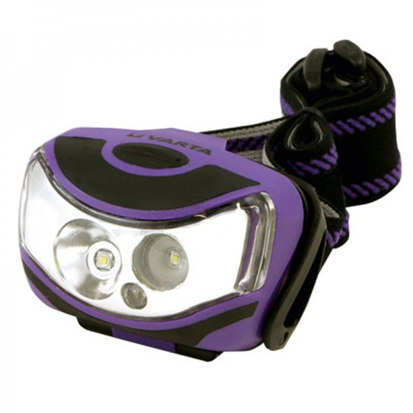 Varta LED Stirnleuchte 2x1 Watt LED Outdoor Sports Head Light