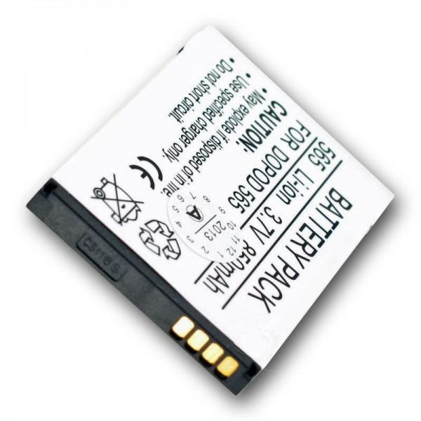 AccuCell Akku passend für Orange SPV C500, SPV C550 ST26