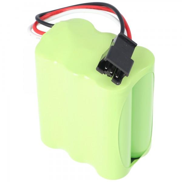1800mAh Akku passend für Tivoli Audio PAL+ Radio Akku MA-4, Tivoli PP-2 mit Stecker dreipolig