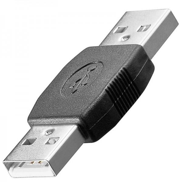 USB 2.0 Hi-Speed Adapter A-Stecker auf A-Stecker
