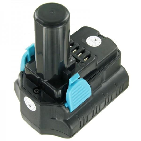 Akku passend für Hitachi CR 10DL, CJ 10DL 10,8 Volt 4000mAh Li-Ion