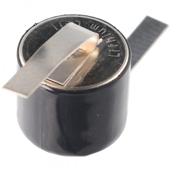 Ersatzbatterie für Sanyo c-T1 Lithium Batterie von FDK mit Lötfahne U-Form