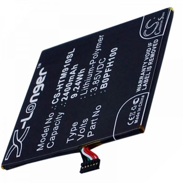 Akku passend für HTC Desire Eye 35H00234-00M, B0PFH100 3,8 Volt 2400mAh