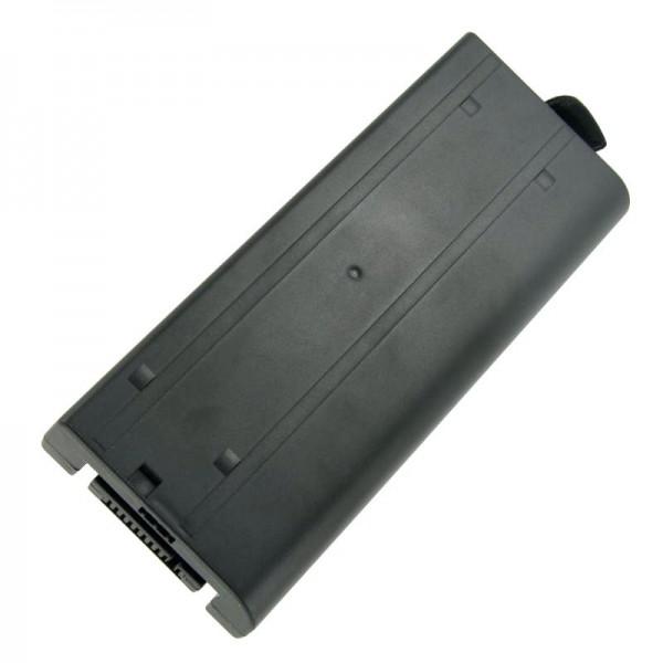Akku passend für Panasonic ToughBook CF-18, CF18, CF-VZSU30, 7,4V, 7400mAh