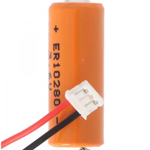 Batterie passend für Mitsubishi FX2NC series controllers, Lithium Batterie FX2NC-32BL ER10280