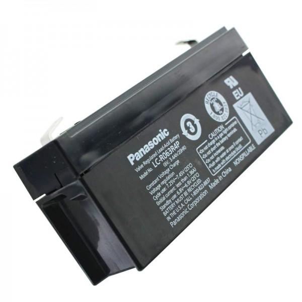 Panasonic LC-R063R4PG PB Blei Akku 6 Volt, 3,4Ah