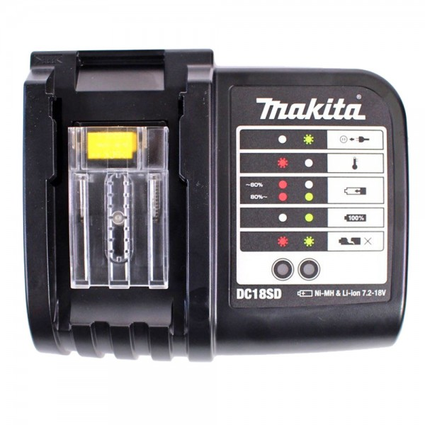 Makita original Ladegerät DC18 SD für 7.2V bis 18V NiMH und Li-ion Akku