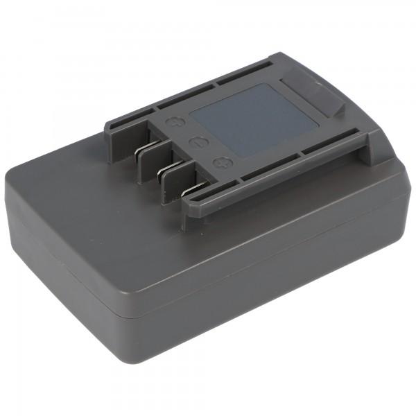 Akku passend für Wolf Garten Li-Ion Power-Pack 5 Akku 41A20--L650 mit 1500mAh