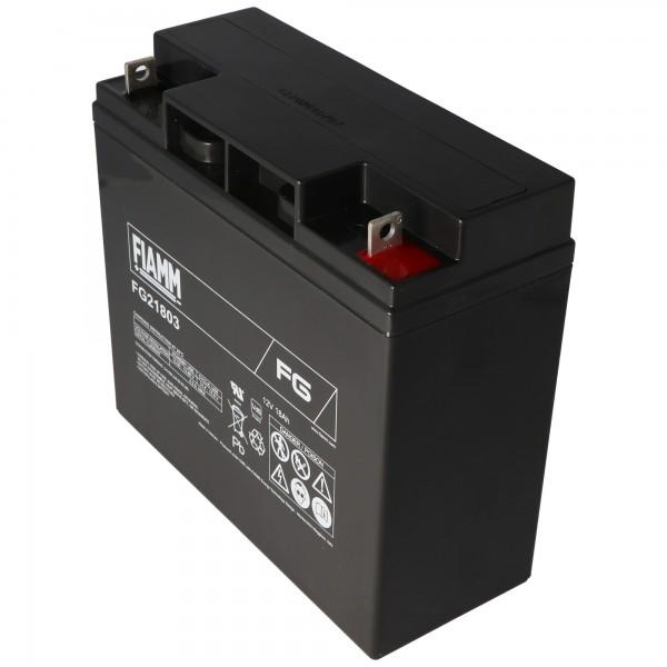 Fiamm FG21803 12V Akku 18Ah, nicht geeignet als Starter-Batterie