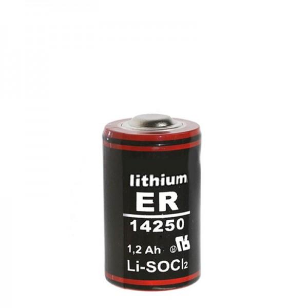 ER14250 Lthium Batterie 1/2 AA 3,6 Volt 1200mAh