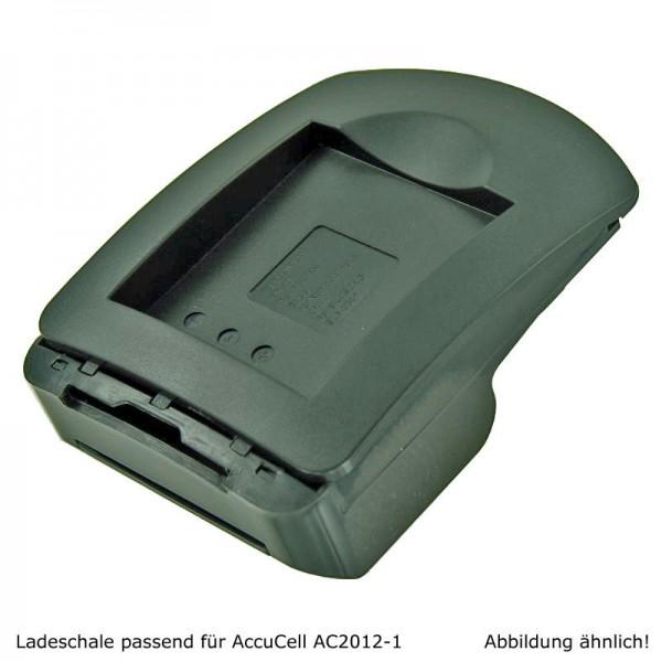 AccuCell Ladeschale passend für Samsung SLB-1974, Pro815