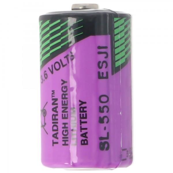 Tadiran LTC SL-550/S, Herst.Nr: 1110550100, Lithium-Thionylchlorid Batterie 1/2AA