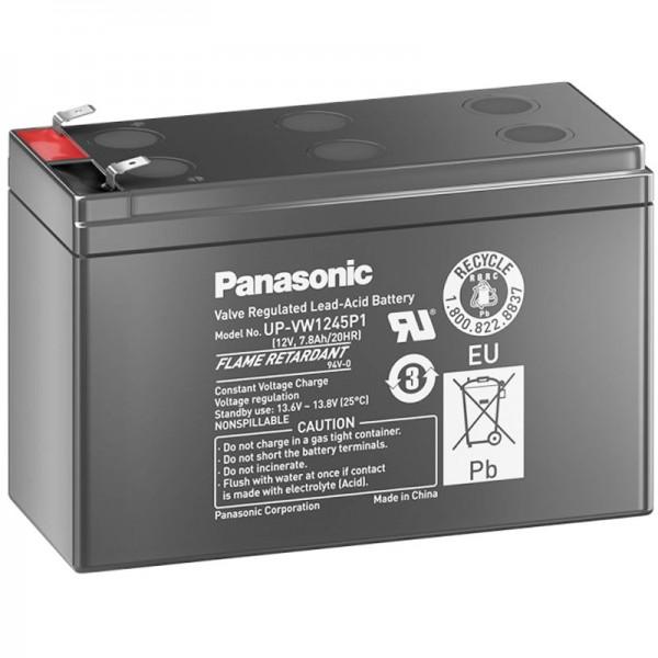 Panasonic UP-RW1245P1 Akku PB 12Volt 7,8Ah, 9Ah, LC-R129P1, LC-R129CH1 (früher 9Ah, jetzt 7,8Ah)