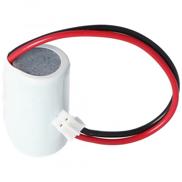 Ersatzbatterie passend für Omron CP1 H, CP1 L, CP1 E, 3V 850mAh